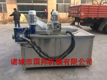 GB-800供应 自动控温油炸锅 休闲食品油炸设备 燃气油炸机厂家直销