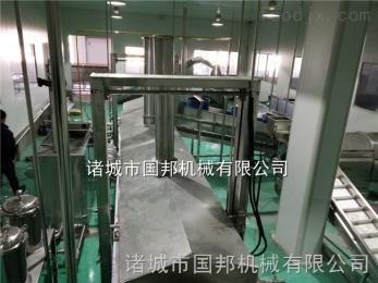 GB-5000供应鱼豆腐油炸生产线 自动控温油炸生产线 山东鱼豆腐油炸机厂家