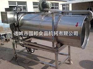 GB-2200供应国邦滚筒薯条,薯片调味机,多功能滚筒拌料机,卧式调味机