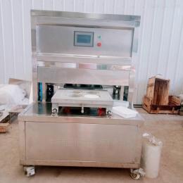 YW-350红烧肉薄膜盒封口包装机
