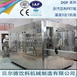 DGF 14-12-5碳酸飲料灌裝生產線全自動PET瓶裝汽酒等壓灌裝機組