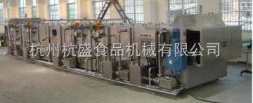 连续式喷淋杀菌冷却机