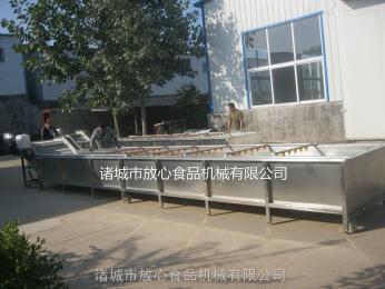 大蝦解凍流水線廠家
