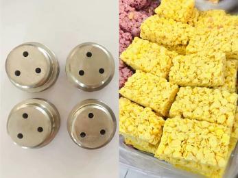 SLG65小型燕麦酥食品双螺杆膨化机设备