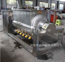 300L電加熱臥式橫軸攪拌炒鍋