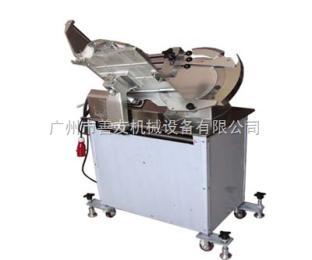 SY-350H可自动卷肉冻肉切片机 全自动立式切肉机