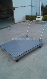 SCS-P722-NS-1~3-1012手推移动式地磅-电子地磅秤