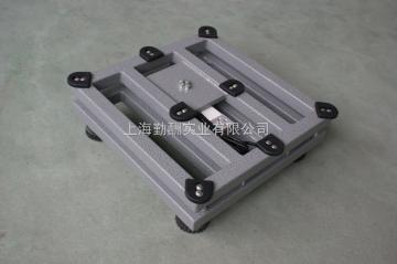 供应500*600LCD不锈钢电子台秤 300公斤防暴电子台称