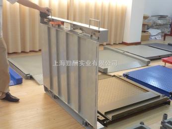 SCS供應5噸高強度緩沖秤,單層電子泵秤,單層地磅稱多少錢