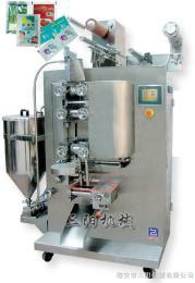 DXDS-J350D醫藥食品化工智能型四邊封雙列醬體包裝機