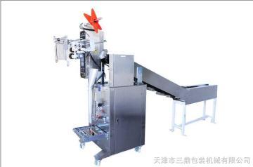 天津三鼎全自动膨化食品包装机