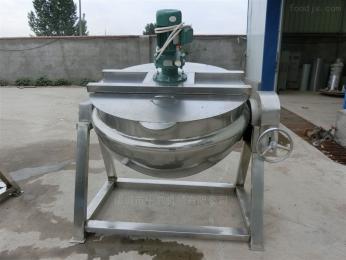 600L可倾式电加热搅拌炒锅