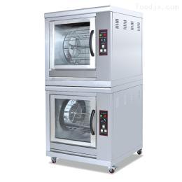 EB-202直销双层旋转电热烤鸡炉