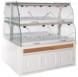 CU-1350抽屉式面包蛋糕架中岛柜面包展示柜