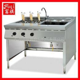 GH-1176富祺立式带汤锅 6头煮面炉