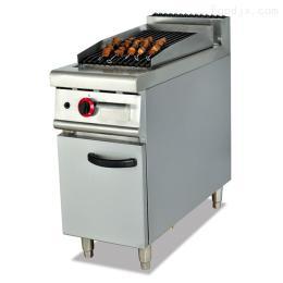GB-979落地式燃气火山石烧烤炉连柜座组合炉