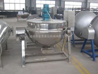 300L电加热常规可倾搅拌卤制品蒸煮锅
