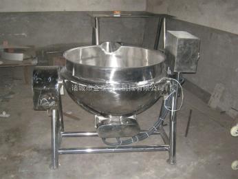 300L300L电加热可倾搅拌带盖夹层锅(卤制品专用锅、蒸煮锅)