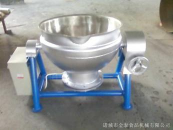 电加热半钢夹层锅(?#32929;?#21378;)用蒸煮锅
