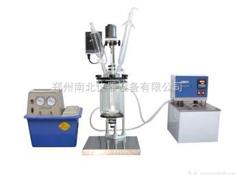 1升双层玻璃反应釜 生产厂家