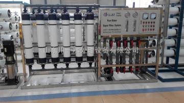 矿泉水瓶装水生产超滤水处理设备及灌装机械川一水处理