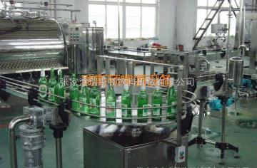 DGP12/6玻璃瓶果汁饮料灌装机