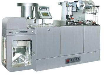 DPB-140B-I型感应自检式成型铝泡罩包装机