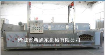 XDFL-4500纯油燃煤型油炸生产线