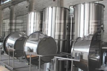 高效沸騰干燥機性能