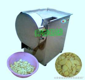 QS-400型電動不銹鋼生姜鮮姜大蒜蒜米切片機