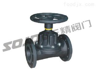 G46J国标手动直通隔膜阀