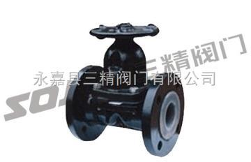 EG41J-10英标衬胶隔膜阀,英标隔膜阀