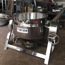 600L蓝莓绿茶 不锈钢搅拌夹层锅