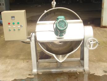 50L供应火锅底料熬制自动搅拌夹层锅