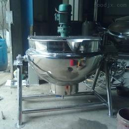 200200L电加热带搅拌夹层锅