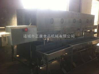 ZK-6800高压喷淋周转筐清洗流水线