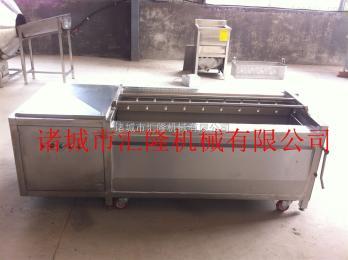 HL-1800大姜清洗去皮机 根茎类蔬菜清洗设备