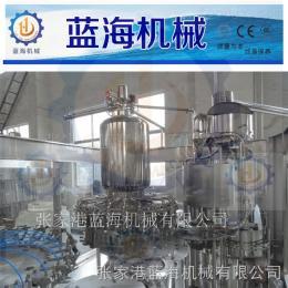 LHRCGF灌装果汁饮料全自动机组生产设备