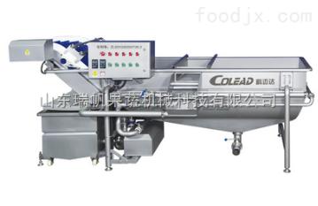 WQS-CL-3480-F-B科迈达 卧式混流喷冲清洗机 果蔬清洗设备