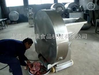 RW-200型冷冻鱼糜切片机,冷冻肉切片机,冻肉板切片机,丸子加工前期设备