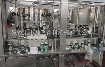 XD-120易拉罐灌裝三合一機器