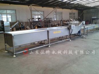郑州山野菜清洗机,高压喷淋式清洗设备