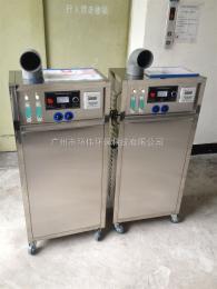 HW-O2-o3-50G高濃度制氮機不銹鋼管道殺菌臭氧發生器