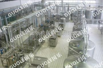 全自动花生奶饮料生产线设备