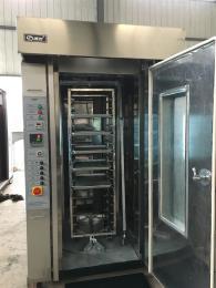 100型热风旋转烤炉 食品烘焙机械