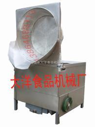 MYZ自动出料油炸机 烧煤的油炸锅报价
