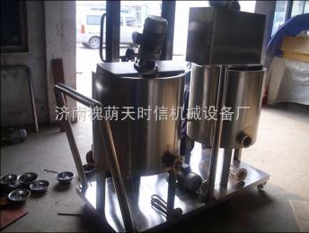 tsx65天時信狗糧生產設備-噴油機