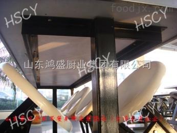 为鸿盛喝彩!山东质量好的餐桌椅生产基地-不锈钢大食?#31859;?#29992;餐桌椅 安心定制
