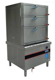 1200*1000*1850mm电磁三门海鲜蒸柜