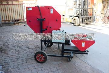 5252黑龙江5252玉米秸秆青贮包膜机 青储饲料打捆机性能稳定